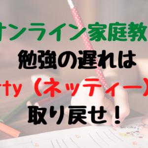 【オンライン家庭教師】勉強の遅れはNetty(ネッティー)で取り戻せ!