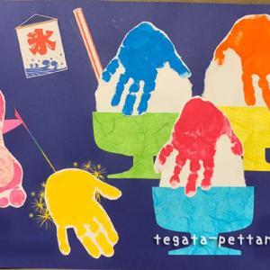 手形アートの夏らしいデザインを紹介します◆花火・かき氷・他
