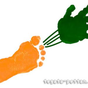 かぼちゃ・さつまいも・他◆手形アートの野菜デザイン紹介まとめ