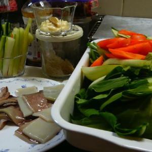 サッパリ~簡単料理!青梗菜とイカのオイスターソース炒め
