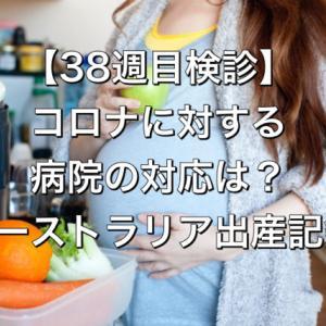 【38週目検診】コロナに対する病院の対応は?【オーストラリア出産記録】