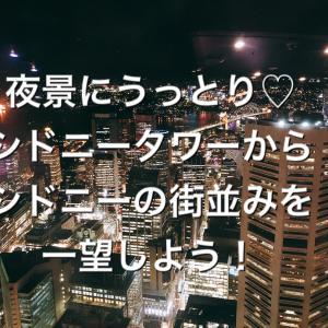 夜景にうっとり♡シドニータワーからシドニーの街並みを一望しよう!
