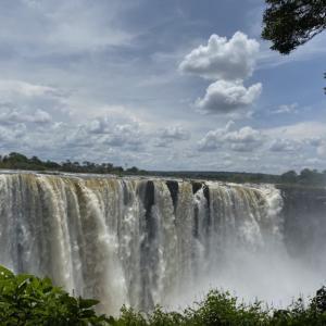ジンバブエの世界遺産、ビクトリアフォールへ!!③