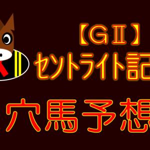 【GⅡ】セントライト記念 展望