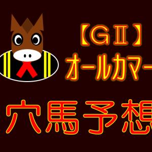 【GⅡ】オールカマー 展望