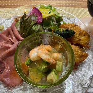 デパ地下のお惣菜で楽ちんディナー