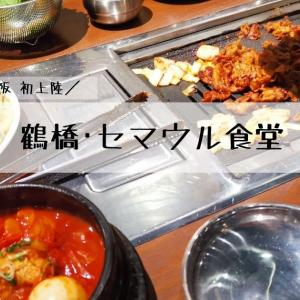 早くも鶴橋で大人気!セマウル食堂で韓国グルメに舌鼓