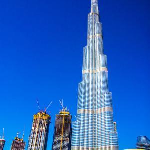 UAE Log.1-大都会ドバイ!世界最大のショッピングモール【ドバイモール】と世界一の高層ビル【ブルジュ・カリファ】-