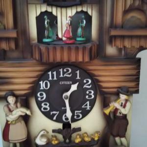 鳩時計🕊️🕝️とクルミっ子切り落とし🐿️