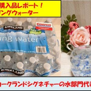 コストコブランドの水!スプリングウォーター(1本18円)はお得?