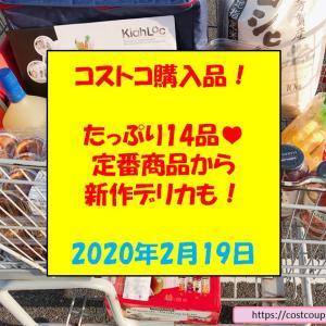 コストコ購入品(2020年2月19日)!新作スイーツありの14品