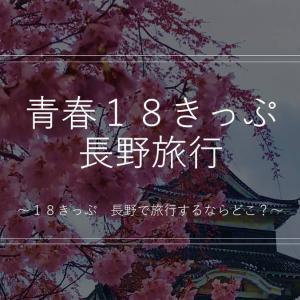 【電車で長野観光】青春18きっぷ利用者がおすすめする長野観光地