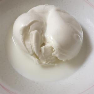 バッファローのモッツァレラチーズ