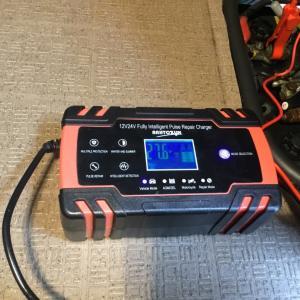 バッテリー充電器 初仕事の結果