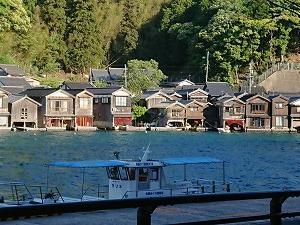 丹後半島 伊根の舟屋