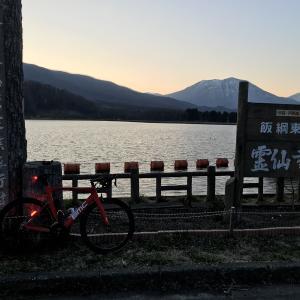 霊仙寺湖ライド