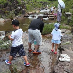 夏休み3世代キャンプ