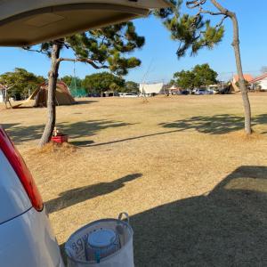 2020年末キャンプ〜竜洋海洋公園オートキャンプ場