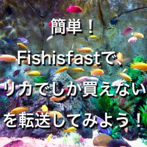 簡単!Fishisfastで、アメリカでしか買えない物を転送!