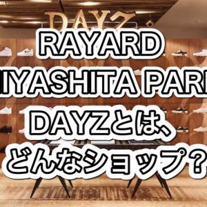 【RAYARD MIYASHITA PARK】DAYZとは?