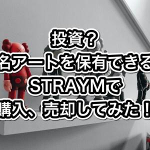 投資?有名アートを保有できる?STRAYMで購入、売却してみた!