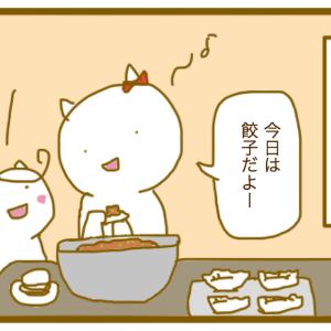 夕飯の餃子、何個作る?の話〜うちは現在50個〜