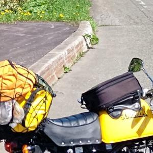 『私の積載方法です(*'▽')さあ、荷物を括って、旅に出よう!』キャンツー、ソロキャン、やってみましょーよ(*'▽')。ってお話。⑨