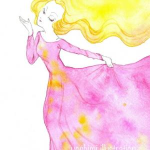 【内なる女神】舞い奏でる天女