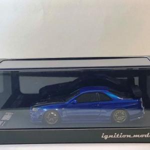 1/43 イグニッションモデル ニスモ R34GT-R Z-tune ベイサイドブルー