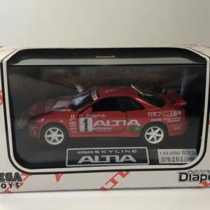 1/43 セガトイズ ダイヤペット 日産スカイラインGT-R(R34)ALTIA