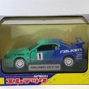 1/43 エムテック 日産スカイラインGT-R(R34)スーパー耐久2001チャンピオンマシン
