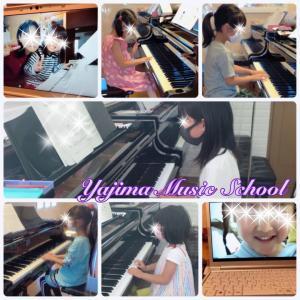 出会ったばかりの生徒さんたち~群馬県伊勢崎市ピアノ教室・矢島音楽教室