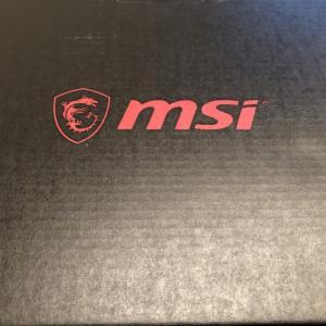 MSI製ノートパソコンのタッチパッドがカタカタ異音がしたけど新品と交換してもらった