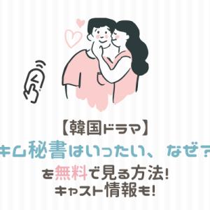 【韓国ドラマ】キム秘書は一体なぜはどこで見れる?キャスト情報やあらすじも!