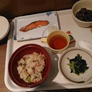 入院生活 12 ある日の夕飯