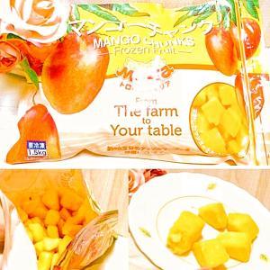手間なし!コストコ冷凍フルーツで簡単おやつタイム☆