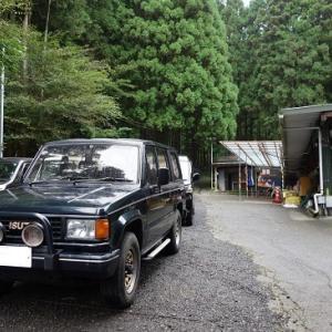 雨の西富士射撃場