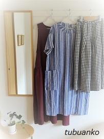 クローゼットにある服はどれも好き♪