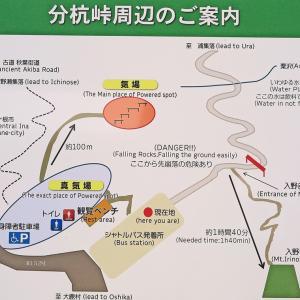分杭峠 ゼロ磁場 パワースポット 2020年2月21日 長野県伊那市