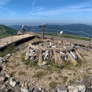 四国 徳島 剣山 ハイキング