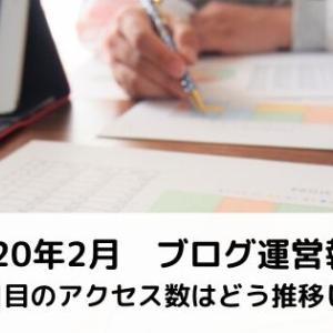【ブログ運営報告】アクセス増も課題も見えた2月【2ヶ月目】