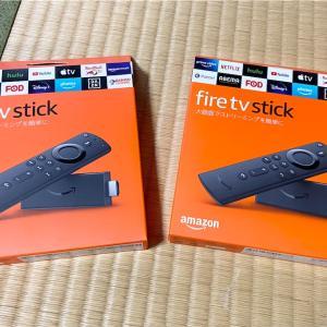 高齢の父母にFireTVStickを2個プレゼントした