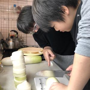 大根寿司仕込みの記録 ①