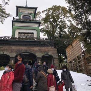 初詣「尾山神社」に行てきたよ