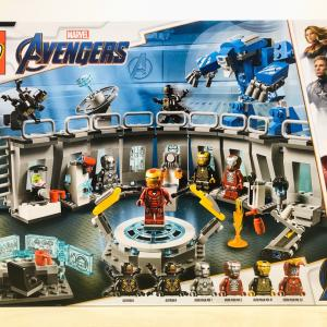 【LEGO】76125 Iron Man Hall of Armour