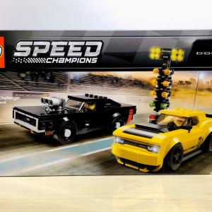 【LEGO】75893 Dodge Challenger and Dodge Charger