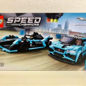 【LEGO】76898 GEN2 car & Jaguar i-PACE eTROPHY