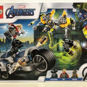 【LEGO】76142 Avengers Speeder Bike Attack