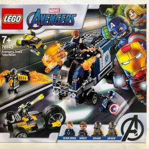 【LEGO】76143 Avengers Truck Take-down
