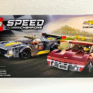【LEGO】76903 Chevrolet Corvette C8.R and 1968
